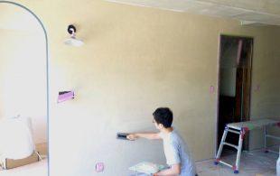 多摩市リノベ(T邸)#5 ┃珪藻土で壁ぬり