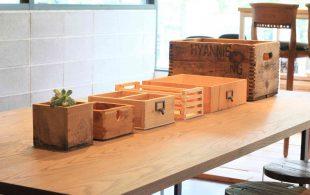 DIY講座 -木箱をつくろう-  開催